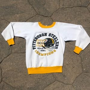 Vintage 1975 Pittsburgh Steelers Childs Sweatshirt